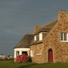 House In Brittany At The Channel Coast