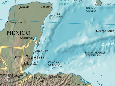 Bay Of  Honduras