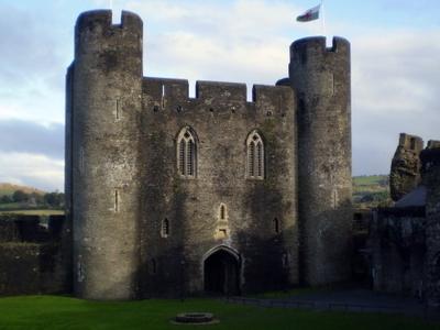 The Restored Inner East Gatehouse