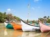 Calangute Beach Boats