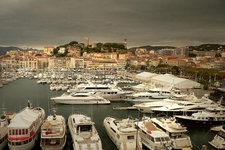 Cannes Harbour At Le Suquet