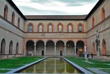Castello Sforzesco Museum In Milan