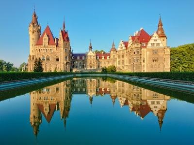 Castle In Moszna - Opolskie