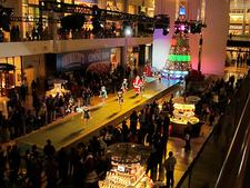 Christmas Show At Fashion Show Mall - Las Vegas