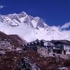 Chukhung With Lhotse - Nepal Himalayas