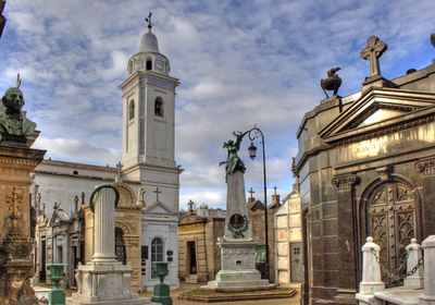 Cemetery And Church Of Our Lady Of Pilar