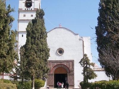 Church Of Saint James Apostle In Tequixquiac