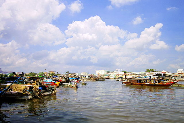 Bassac Boat: Caibe - Cantho - Chau Doc Photos