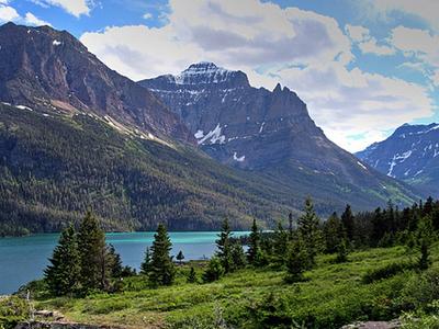 Citadel Mountain At Glacier - USA
