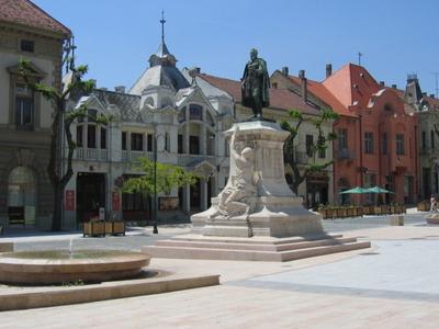 City Center, Szekszárd, Hungary