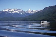 Clearwater Lake Garnet Peak