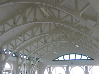 Clifford Piers Roof Structure