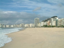 Copacobane Beach Early Morning