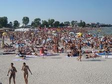 Costinesti Holiday Beach Crowd - Constanta