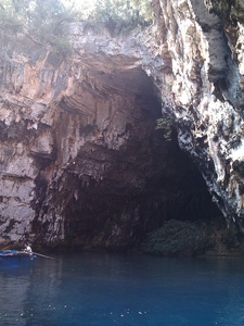 Covered Part Of The Cave