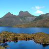 Dove Lake And Cradle Mountain, Central Tasmanian Highlands