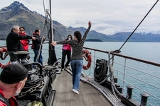 Cruising Fiordland National Park NZ