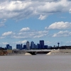 Downtown Calgary Seen From Glenmore Reservoir