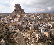 The Town Of Ortahisar