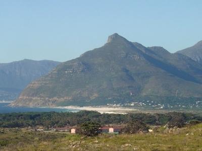 Chapman's Peak, Seen From Noordhoek