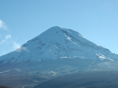 Chimborazo From The West