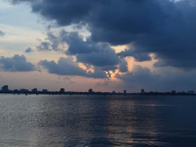 Clouds Over West Lake