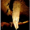 Big Stalactite In Crag Cave