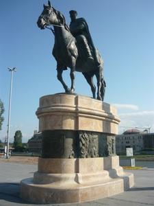 Dame Gruev Statue