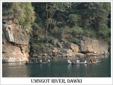 Dawki Jaintia Hills District
