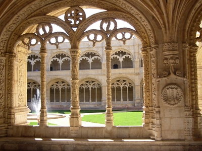 Decorated Cloister Arches