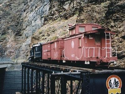 Denver And Rio Grande Western Railroad Narrow Gauge Trestle