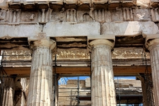 Detail Of Athen's Parthenon