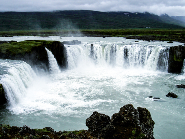 Lake Myvatn and Powerful Dettifoss Photos