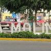 District Sign At La Molina Avenue