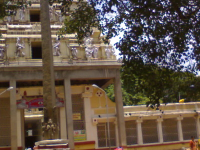 View Of The Bull Temple