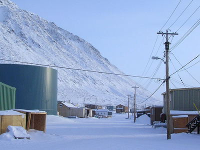 Downtown  Grise  Fiord