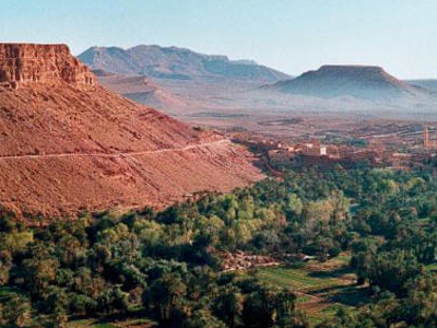 The Draa River Valley