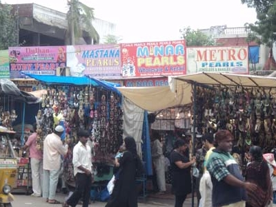 Bazaar Outside Charminar