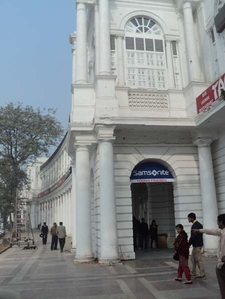 Connaught Place Georgian Building - New Delhi