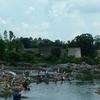 Villagers At Betwa River