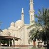 Dubai Jumeirah Mosque Side View