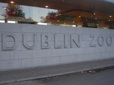 Dublin Zoo Entrance