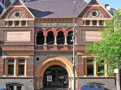 Victorian Artists Society, Albert Street