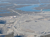 Four Open Pits On Four Kimberlite Pipes