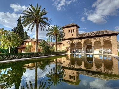 El Partal - La Alhambra De Granada - Andalucia Spain