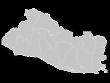 El Salvador Map