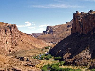 Canyon At The Pinturas River