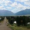Enterprise With The Wallowa Mountains
