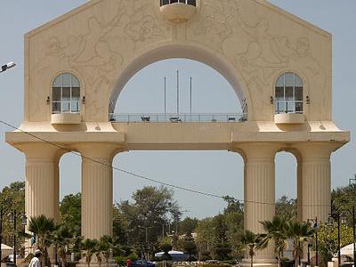 Entrance To Banjul