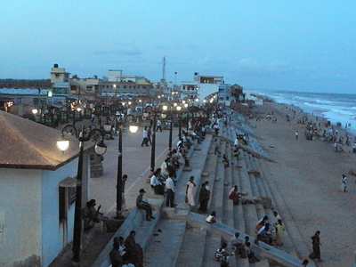 Entrance To Gopalpur Beach